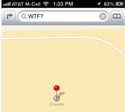 WTF Apple Maps?