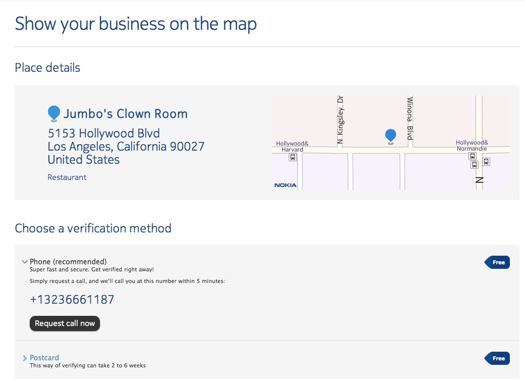 How To Claim a Business on Nokia Here.net