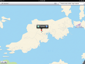 Apple Maps British Virgin Islands