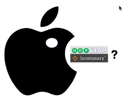 Apple Hopstop Locationary