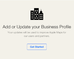 Add of Update Your Business Profile on Apple MAps