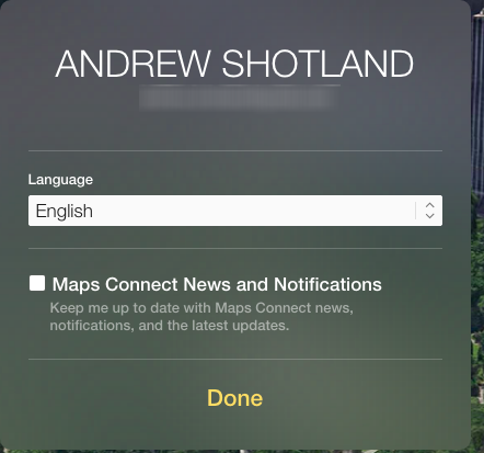 Apple Maps Connect News